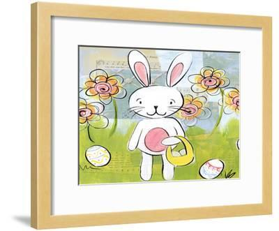 Hoppity-Erin Butson-Framed Art Print