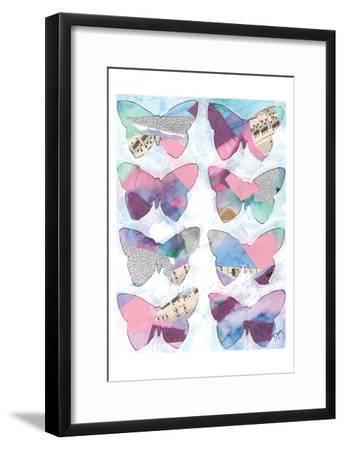 Butterfly Windows 1-Beverly Dyer-Framed Art Print