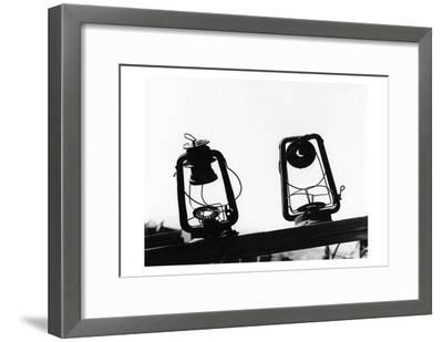Bodi Lanterns-Albert Koetsier-Framed Art Print