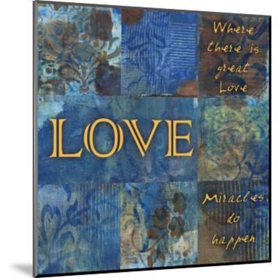 Winter Love-Smith Haynes-Mounted Art Print