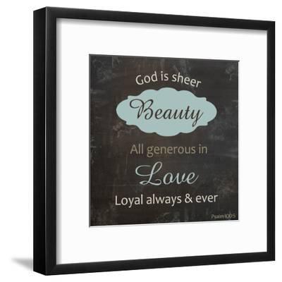 Religious Chalk 2-Lauren Gibbons-Framed Art Print