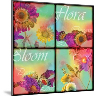 Flora Film-Tony Pazan-Mounted Art Print