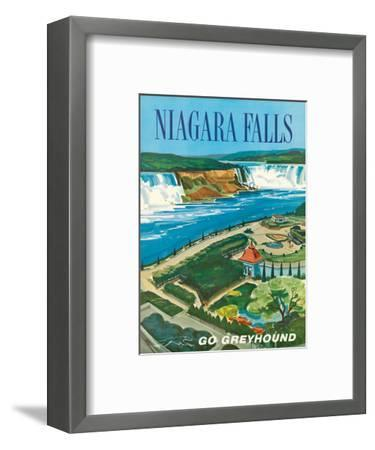 Niagara Falls, Ontario, Canada, New York, USA-S^ Fleming-Framed Art Print