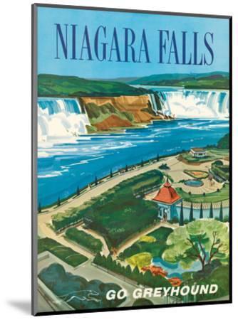 Niagara Falls, Ontario, Canada, New York, USA-S^ Fleming-Mounted Art Print