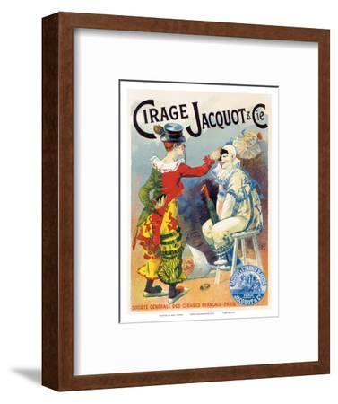 Cirage Jacquot & Co., Art Nouveau, La Belle Époque-Lucien Lefevre-Framed Art Print