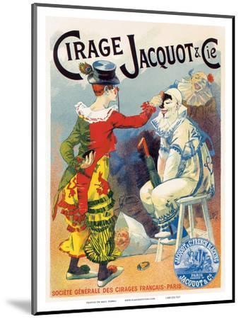 Cirage Jacquot & Co., Art Nouveau, La Belle Époque-Lucien Lefevre-Mounted Art Print