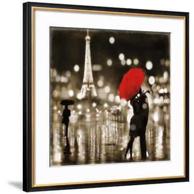 A Paris Kiss-Kate Carrigan-Framed Art Print
