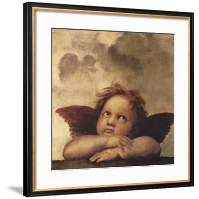 Cherubs - Detail II-Raphael-Framed Giclee Print
