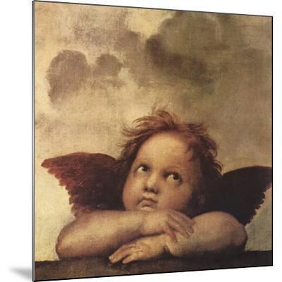 Cherubs - Detail II-Raphael-Mounted Giclee Print
