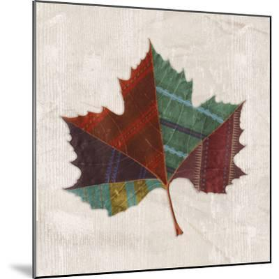 Forest Leaves I-Clara Wells-Mounted Giclee Print