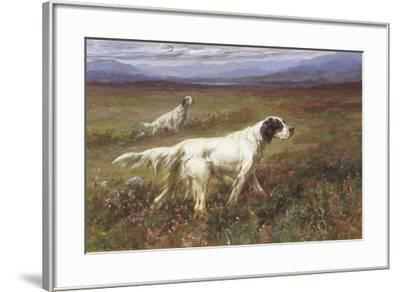 Setters on the Moors-Maud Earl-Framed Giclee Print