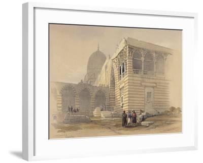 Tomb of the Khalifs-David Roberts-Framed Giclee Print