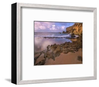 Keoneloa Bay, Kauai, Hawaii-Tim Fitzharris-Framed Art Print