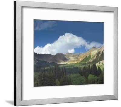 Elk Mountains near Crested Butte, Colorado-Tim Fitzharris-Framed Art Print