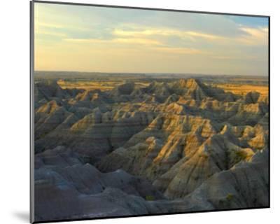 White River Overlook, Badlands National Park, South Dakota-Tim Fitzharris-Mounted Art Print