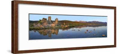Panorama of tufa towers at Mono Lake, California-Tim Fitzharris-Framed Art Print