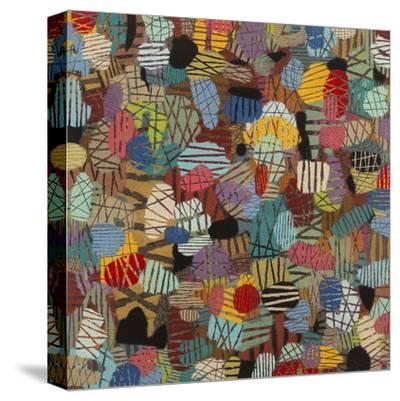Mod Manhattan #1-Downs-Stretched Canvas Print