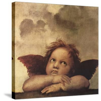 Cherubs - Detail II-Raphael-Stretched Canvas Print