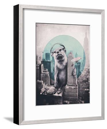 DJ-Ali Gulec-Framed Art Print