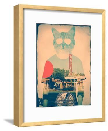 The Cat-Ali Gulec-Framed Art Print