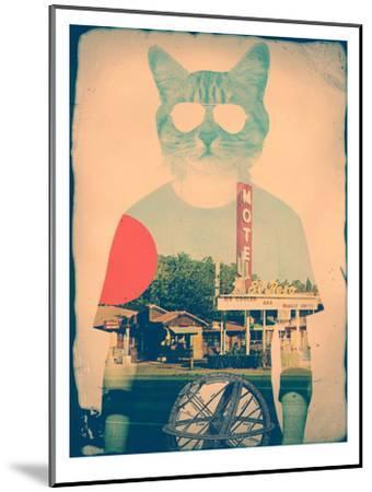 The Cat-Ali Gulec-Mounted Art Print