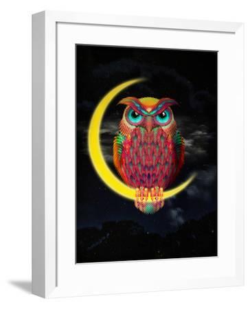 Owl-Ali Gulec-Framed Art Print