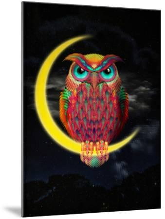 Owl-Ali Gulec-Mounted Art Print