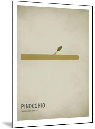 Pinocchio-Christian Jackson-Mounted Art Print