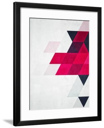 Untitled (minimylysse)-Spires-Framed Art Print