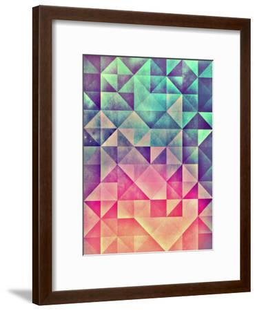 Untitled (myllyynyre)-Spires-Framed Art Print