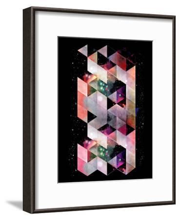 Untitled (dystynt)-Spires-Framed Art Print