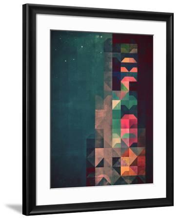 Untitled (byldyynngg)-Spires-Framed Art Print