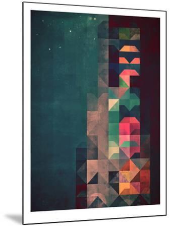 Untitled (byldyynngg)-Spires-Mounted Art Print