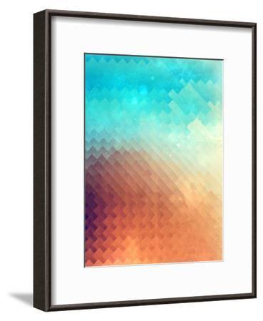 Untitled (plyyn hyte)-Spires-Framed Art Print