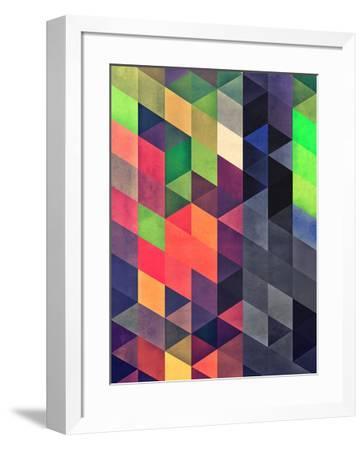 Untitled (sylytydd)-Spires-Framed Art Print
