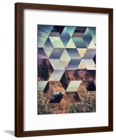 Untitled (syylvya rrkk)-Spires-Framed Art Print