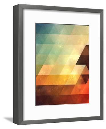 Untitled (lyyt lyyf)-Spires-Framed Art Print