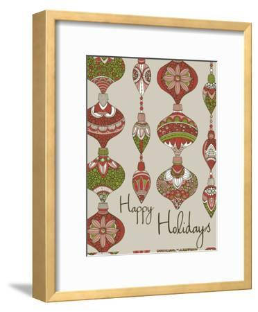 Happy Holidays-Valentina Ramos-Framed Art Print