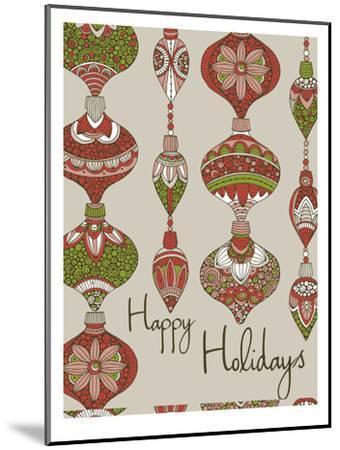 Happy Holidays-Valentina Ramos-Mounted Art Print