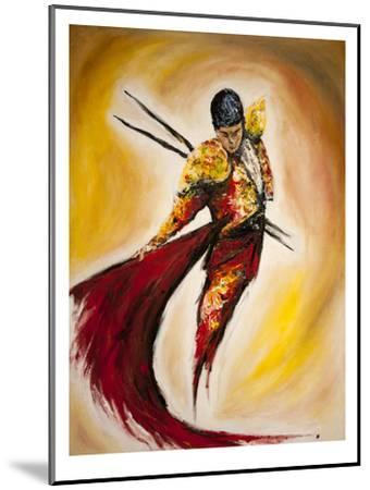 Matador-Marc Allante-Mounted Art Print