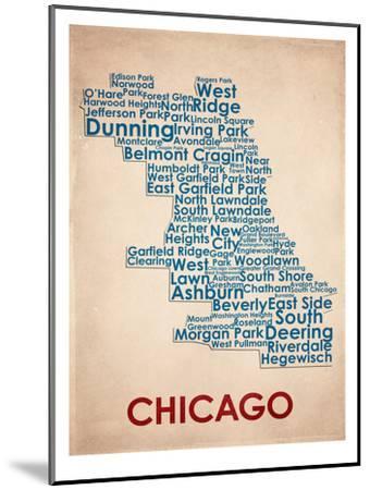 Chicago--Mounted Art Print