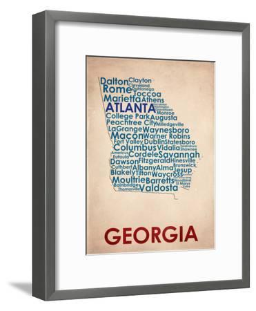 Georgia--Framed Art Print