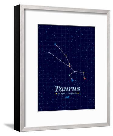 Taurus-Patricia Pino-Framed Art Print