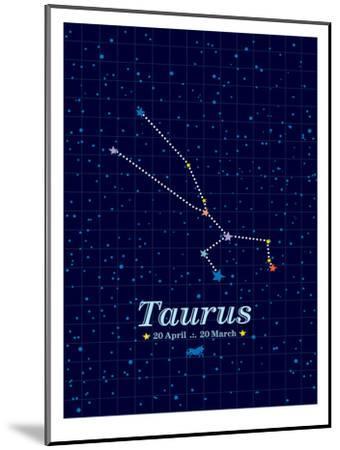 Taurus-Patricia Pino-Mounted Art Print