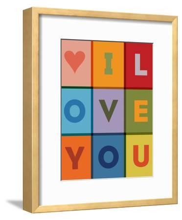 I Love You-Brett Wilson-Framed Art Print