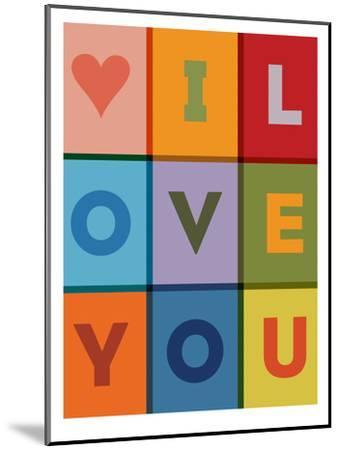 I Love You-Brett Wilson-Mounted Art Print