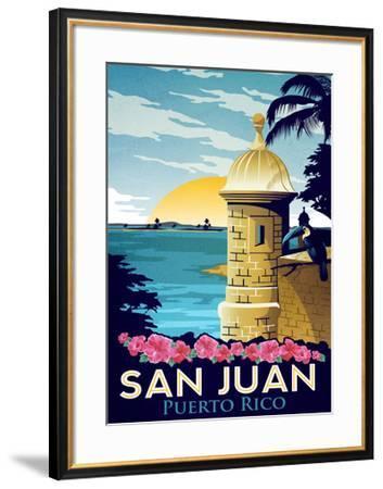 San Juan, Puerto Rico-Matthew Schnepf-Framed Art Print
