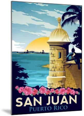 San Juan, Puerto Rico-Matthew Schnepf-Mounted Art Print