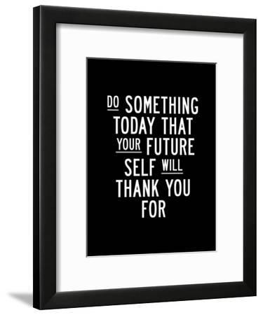 Do Something Today-Brett Wilson-Framed Art Print