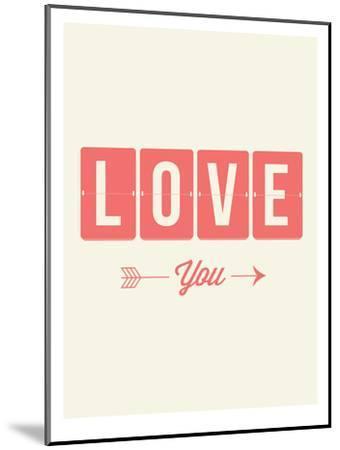 Love You Flip-Brett Wilson-Mounted Art Print
